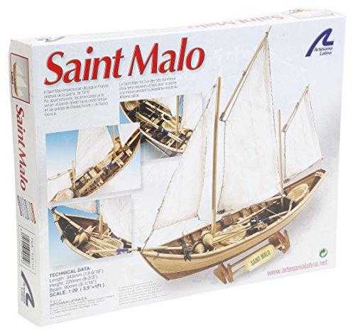 [ARTESANIA LATINA SAINT MALO 19010 Model Ship Kit 1:35] (Artesania Latina Model Boats)