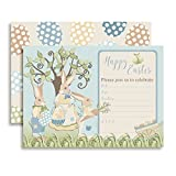 Easter Themed Party Fill in Invitations set of 10 with envelopes