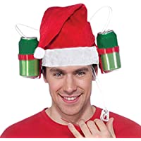 Doingshop Drinking Helmet Novelty Drinking Hat Exotic Beer Soda Guzzler Gift Drinking Straw Hat Toys Great Party Accessory