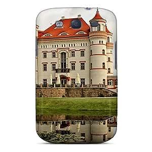 Defender Case For Galaxy S3, Lovely Wojnowice Castle In Pol Pattern