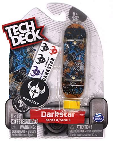 Tech Deck Darkstar Skateboards Series 8 Roadie Pilot Fingerboard - - Deck Tech Display