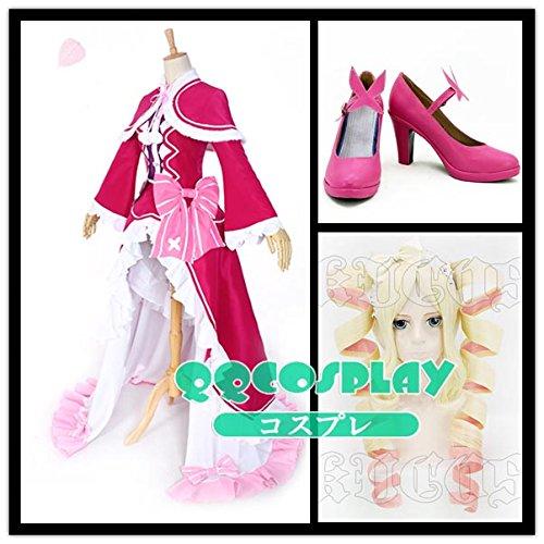 (お得な特別割引価格) 【QQCOSPLAY】 コスプレ衣装+ウイッグ+靴 Re:ゼロから始める異世界生活 cosplay ベアトリス cosplay B01ILK12TS, ヒガシカモグン:a64747ae --- a0267596.xsph.ru