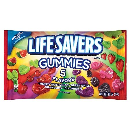 LifeSavers Gummies Candy 5 Flavors 13.0 oz. (Pack of 2)