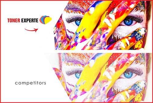 Pack de 2 XL TONER EXPERTE/® Cartuchos de Tinta compatibles con HP 27 HP 28 C8727AE C8728AE para HP Officejet 4215 PSC 1110 1210 1215 1315 Deskjet 3320 3325 3420 3535 3550 3650 5650 5850 Negro, Color
