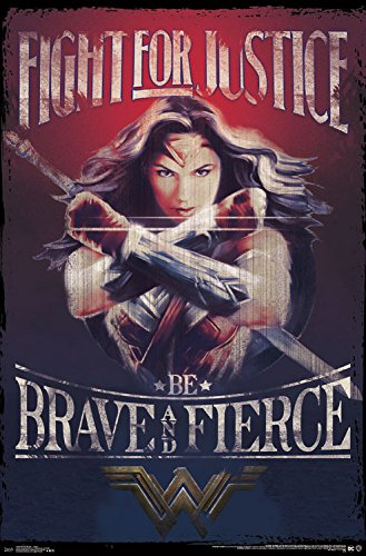 Trends-International-Wonder-Woman-Justice-Wall-Poster ...