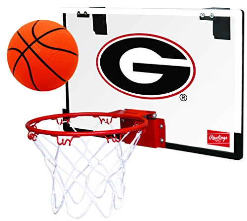 (Rawlings NCAA Georgia Bulldogs 00673073111NCAA Game On Polycarbonate Hoop Set (All Team Options), Red, Youth)