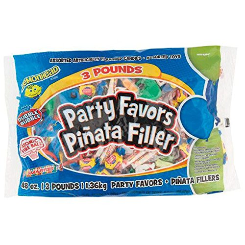 Boy Birthday Pinata Filler, Assorted 3lbs -