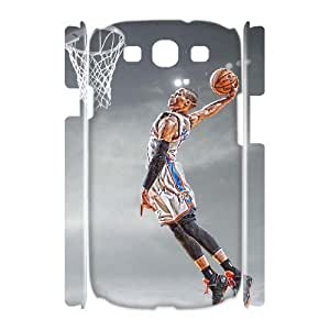 C-EUR Russell Westbrook Customized Hard 3D Case For Samsung Galaxy S3 I9300