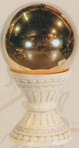 10'' Gold Stainless Steel Gazing Ball