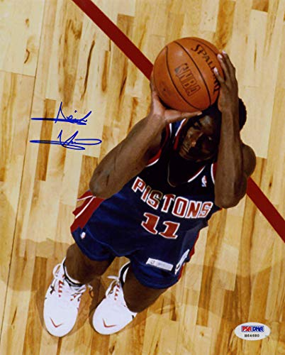 Isiah Thomas Autographed Signed 8x10 Photo Detroit Pistons PSA/DNA Autographed Signed
