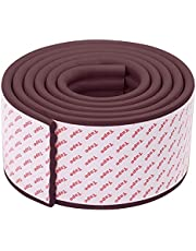 CALIDAKA 78.7inch Baby Proofing Edge Protectors,Edge Corner Protector,Glass Table Protector Bumper,Baby Safety Bumper Proofing Corners Guard Protector for Fireplace,Stair,Cabinet,Countertop