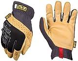 Mechanix Wear - Material4X FastFit Gloves (Large, Black/Brown)