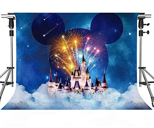 - Cartoon Backdrop Building Castle Blue Photography Background MEETSIOY 10X7ft Themed Party Photo Booth YouTube Backdrop GEMT1402