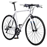 Pure Cycles Classic 16-Speed Flatbar Road Bike, 51cm/Small, Ray White