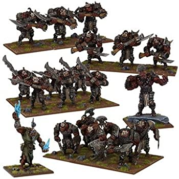 Amazon.com: Kings of War: Ogre Mega Army Box: Toys & Games