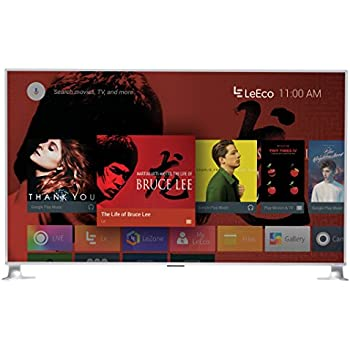"""LeEco 85"""" 4K Ultra HD Smart active LED TV, Silver (2016) (D85XUCNN)"""