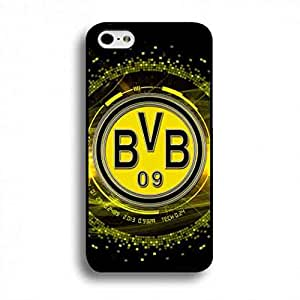 Borussia Dortmund Football Club Logo For iPhone 6 Plus/iPhone 6S&Plus(5.5inch) Bvb06 German Bunds Liga Fc Printed Black Back Design