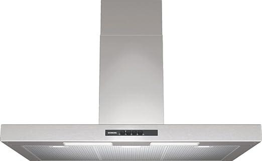 Siemens LC94BA521 - Campana (Canalizado/Recirculación, 440 m³/h, 63 Db, Montado en pared, Halógeno, Acero inoxidable): Amazon.es: Hogar