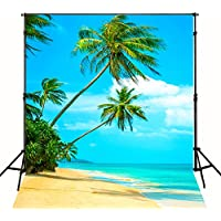 Beach Wedding Photography Backgrounds 6x8Feet Sea Beach Photo Backdrops Holiday Cloth Vinyl Photography Background Studio Props Y677