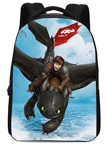 How to Train Dragon Bag Protagnist Cosplay Polyester Waterproof Backpacks Style A