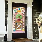 """Beistle Gingerbread House Door Cover, 30"""" x"""