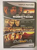 Triple Feature Dvd - No Country For Old Men/Gangs Of New York/Gone Baby Gone (2016)