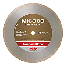 MK Diamond 153693 MK-303 Professional 8-Inch Diameter Lapidary Blade by .025-Inch Wide by 5/8-Inch Arbor