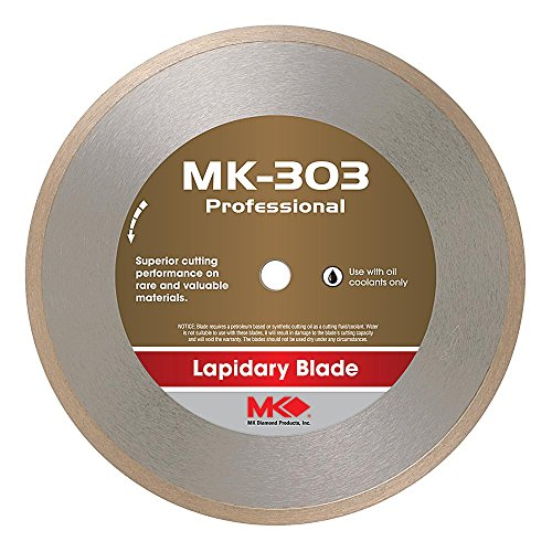 MK Diamond 156727 MK303 Wet Cutting Lapidary Diamond Blade