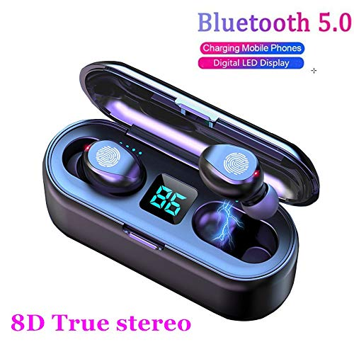 2020 Upgraded Bluetooth Earbuds,AEDILYS 5.0 Earbuds with 2000mAh Charging Case LED Battery Display 60H Playtime in-Ear…