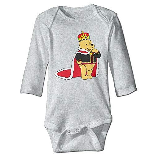 Pooh Cotton Winnie Mittens The - Mydufish Bodysuits Winnie The Pooh Baby Boy's & Girl's Bodysuit Climbing Clothes (0-24 Months)