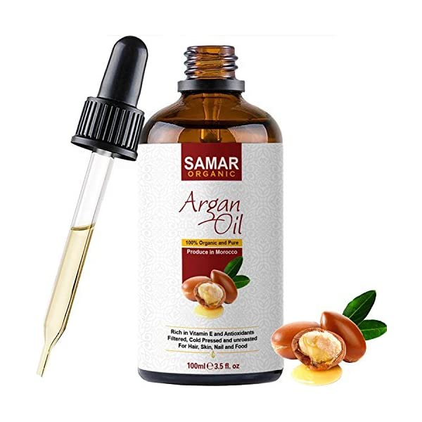 Argan-Oil-of-Morocco-Premium-Quality-100-Pure-and-Organic-Certified-Extra-Virgin-Cold-Pressed-Natural-Raw-Argan-Oil-from-the-Kernels-of-the-Argan-Tree-100ml-Treatment-for-Hair-Skin-and-Nails