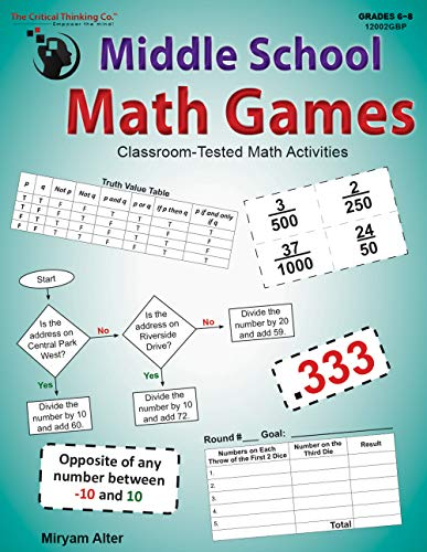 (Middle School Math Games: Classroom-Tested Math Activities (Grades)