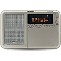Eton Executive Traveler Audio Component Receiver Grey Shortwave Radio Silver (NGWTIIIEXEC)