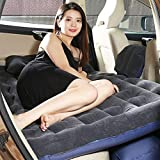 JZG Cars Back Seat Cover Camping Car Air Mattress