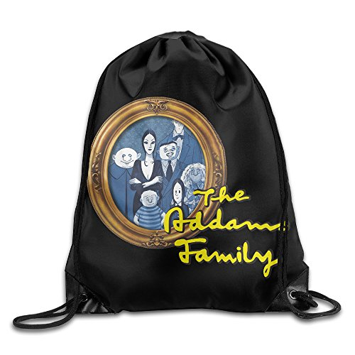 Gym Sackpack The Addams Family Poster (Wednesday Addams Shoes)