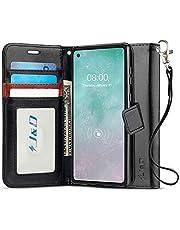 J&D Case Compatibel met Motorola Moto G8 Power Hoesje, Wallet Stand Slim Fit Heavy Duty Beschermende Schokbestendige Flipcover met Kaartsleuven voor Moto G8 Power Wallet Case, Zwart