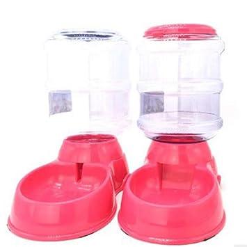 Scelet 1PC Comedero automático para Mascotas Perro Gato Dispensador de Agua Especial para Mascotas Suministros Tazón de Comida: Amazon.es: Hogar
