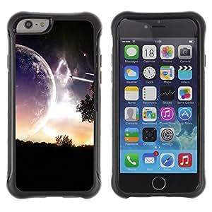 Be-Star único patrón Impacto Shock - Absorción y Anti-Arañazos Funda Carcasa Case Bumper Para Apple iPhone 6(4.7 inches) ( Sci Fi Romantic Planet )