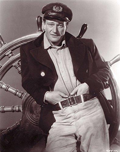 Old Tin Metal Signs John Wayne Seaman