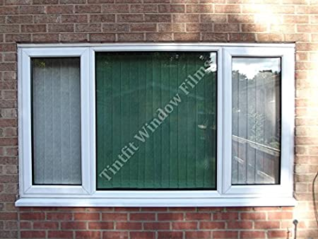 76cm x 4m NON REFLECTIVE LIGHT GREEN 50 FROM /£6.99 ONE WAY PRO WINDOW TINTING FILM