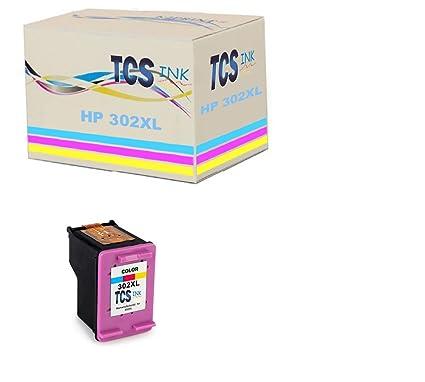 TCS Ink: HP-302 X C cartucho de tinta compatible con Impresora HP ...