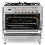 Cosmo COS-965AGFC 36 in. Gas Range with 5 Burner