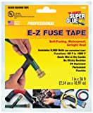 Super Glue Super Glue 15407-12 EZ Fuse Silicone Tape, Black, 36-Feet, 12-Pack(Pack of 12)