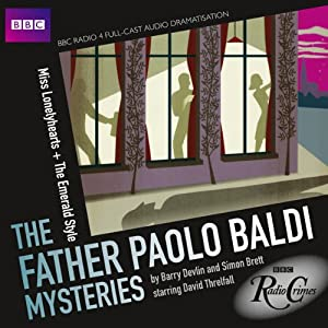 BBC Radio Crimes: The Father Paolo Baldi Mysteries: Miss Lonelyhearts & The Emerald Style Radio/TV