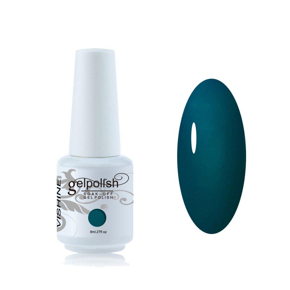 Vishine Vernis à ongles 8ml Semi-permanent Nail Polish UV LED Soak Off Gels Manucure #006