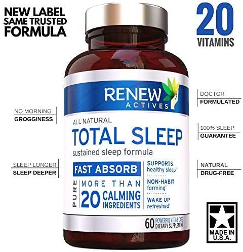 All Natural Sleep Aid Supplement. Non-Habit Forming Sleeping Pill. Our Guarantee is A Deeper, Longer & Restful Sleep! Starting Tonight Get The Peaceful & Natural Sleep You Deserve!