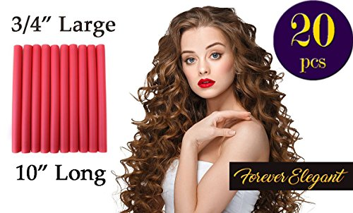 Flexi Rods For Long Hair, Large Size 3/4