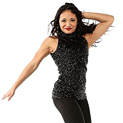 Sequin Costume Tank Top