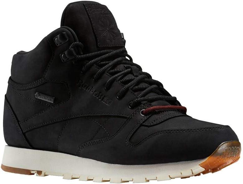 : Reebok Classic Leather Mid GTX Thin (Black