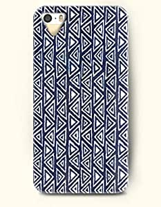 OOFIT Aztec Indian Chevron Zigzag Pattern Hard Case for Apple iPhone 4 4S ( Ethic Triangle Pattern )